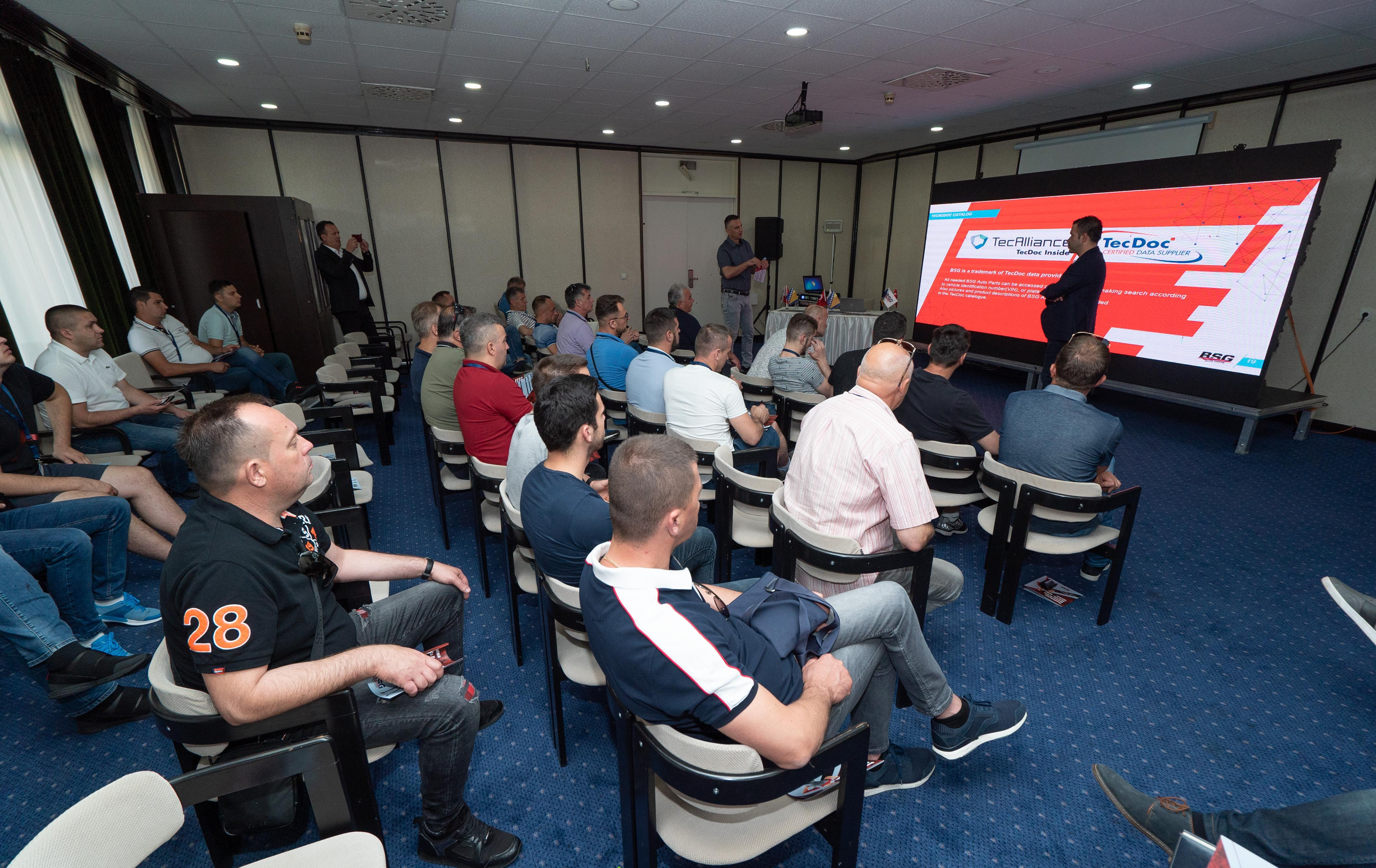 <p>BSG Auto Parts, which serves its customers with high quality product policy in more than 63 countries, has completed the trainings specially organized for master technicians in Izmir, Uşak and Sarajevo.</p>  <p>The training also provided detailed information about the company's investments, product range, consumer rights and the correct use of the products.</p>  <p>After the training, BSG brand representatives and technicians have dined together and had pleasant conversations along with souvenir photos.</p>