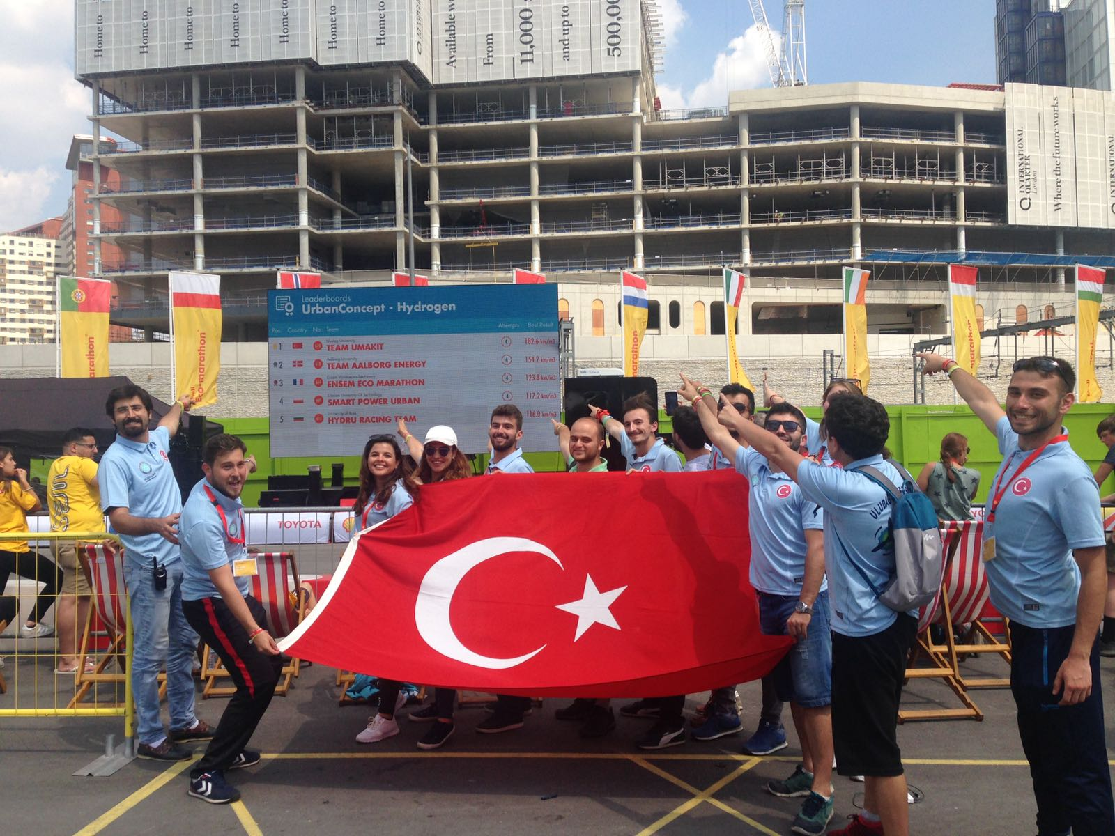 <div>UMAKİT, is developing hydrogen-powered cars.İt has participated and beig part in competitions in international level in recent years representing Turkey.<br /> <br /> Shell Eco-Marathon Europe, based on the longest distance to travel with the least energy, was held in London in July. Turkey team who win the European championship competing with 11 competitors in their field made history as the first Turkish team. İnternal hydrogen powered vehicle with 1 cubic meter of hydrogen gas showed the success of 182.6 kilometers and became the most efficient vehicle.</div>  <div><br /> About a year, 13-students of UMAKİT team who work with intense tempo for the tools of the vehicle named Barbarossa,and it woth the effort.</div>  <div><br /> UMAKIT in Istanbul; Shell Eco-Marathon which will be held in Kocaeli Turkey by TÜBİTAKi Efficiency Challenge races will be attended by energy-efficient vehicles.</div>