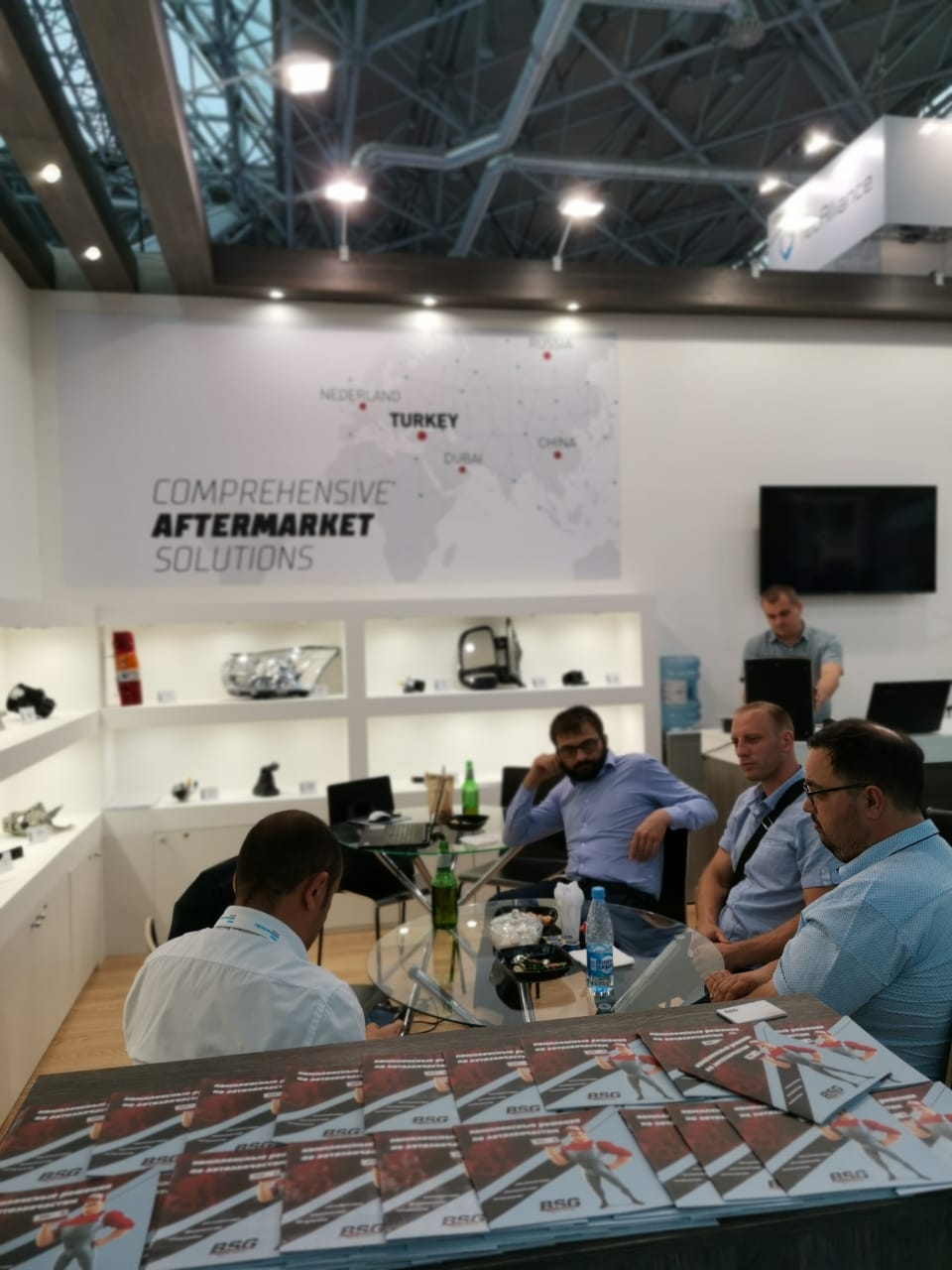 <p>BSG Auto Parts, one of the Turkey's leading aftermarket parts brands joined the 13th. Automechanika Moscow which is held on 26 to 29 August 2019. This is the biggest trade expo in the CIS and Russian region.</p>  <p>Approximately 30,000 people from all over the world visited Russia's most important automotive supplier industry expo in Russia. As one of the biggest exhibitors, BSG came together with its current and potential business partners, as a high quality parts supplier for automobiles and light commercial vehicles, including accessory, equipment and other related parts.</p>